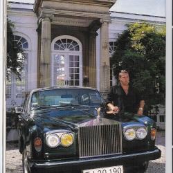 Thomas og sin Rolls Royce